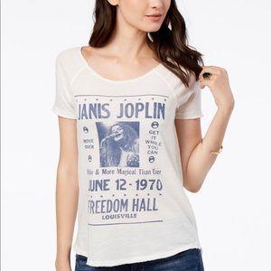 LUCKY BRAND - Janice Joplin T-shirt, Medium